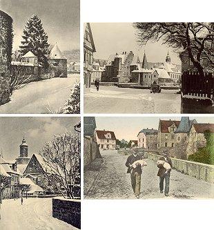 Klappkarten-Set Weihnachten in Büdingen