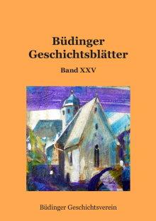 Büdinger Geschichtsblätter Band XXV